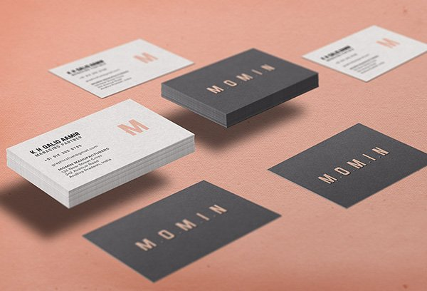 115 High Quality Free PSD Business Card Mock ups