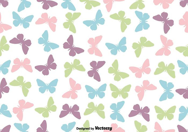71 cute backgrounds packs free premium cute butterfly icon seamless pattern voltagebd Gallery