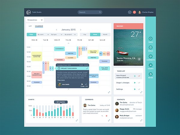 Task Management App Dashboard
