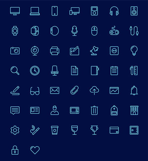 PSD Icon Set