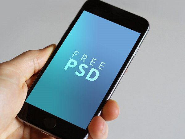 iPhone 6/6s free PSD