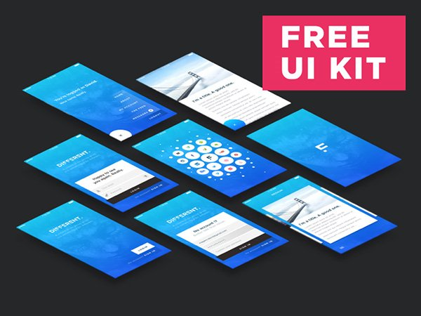 Different UI KIT - Free