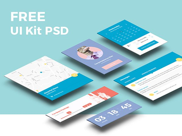 Freebie PSD - UI Kit