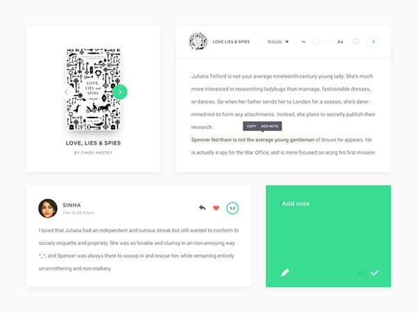 Coco UI Kit - (Vol 1 to 4)