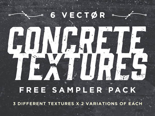 Vector Concrete Textures Sampler Pack