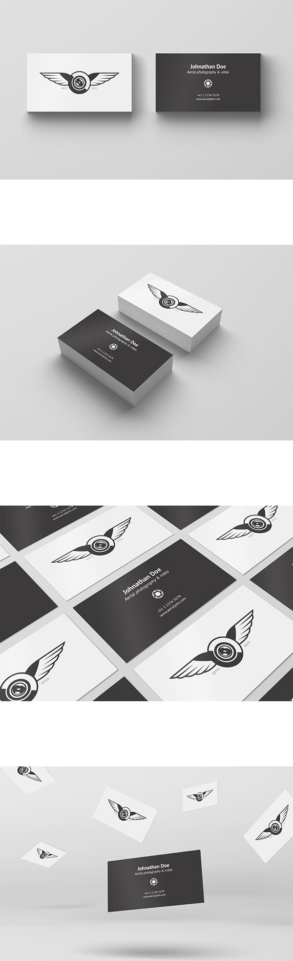 100 High Quality Free PSD Business Card Mock Ups Amits IT Blog