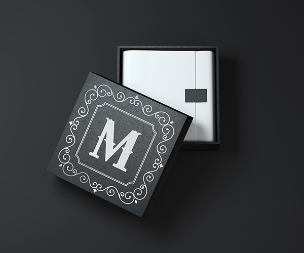 Square Box Mock up