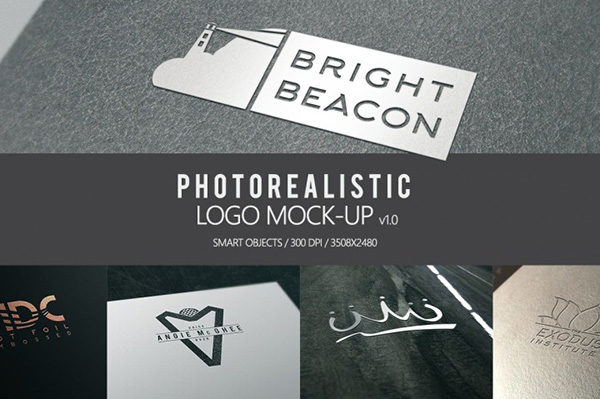 Photorealistic Mock-up Logo v1.0