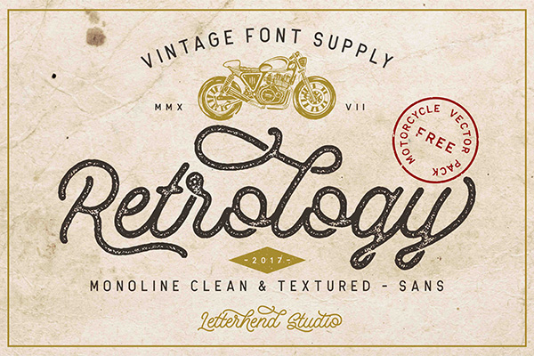 Retrology Monoline & Vector Pack