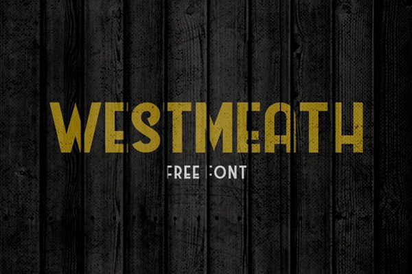 Westmeath - Free Vintage Style Font