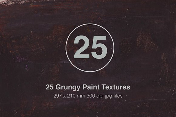 25 Grungy Paint Texture Backgrounds