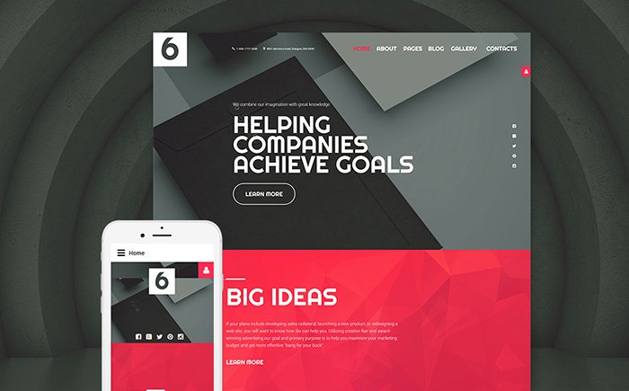 Big Ideas - Advertising Agency Joomla Template