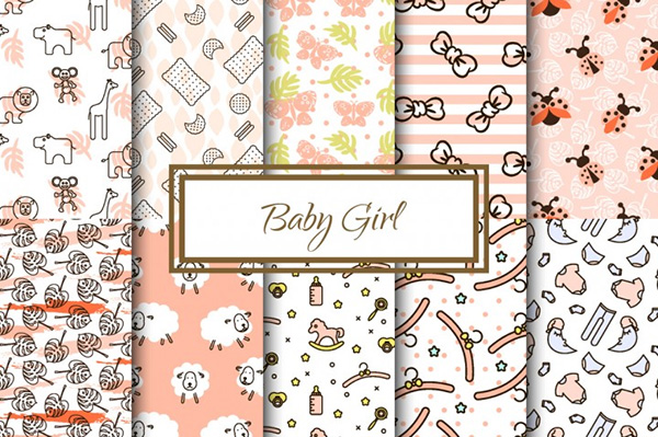 Baby Girl Cute Patterns