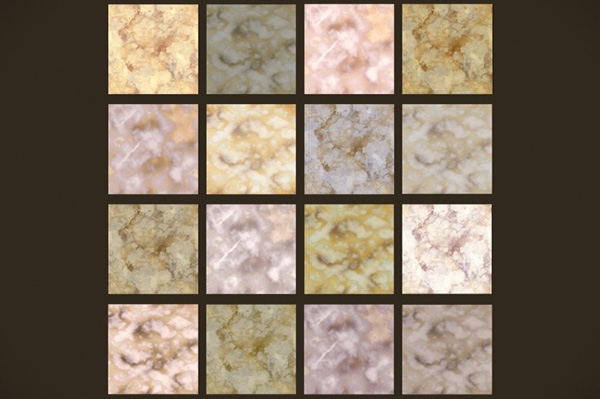 Vintage Gold Marble Textures