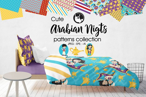 ARABIAN NIGHTS Patterns collection