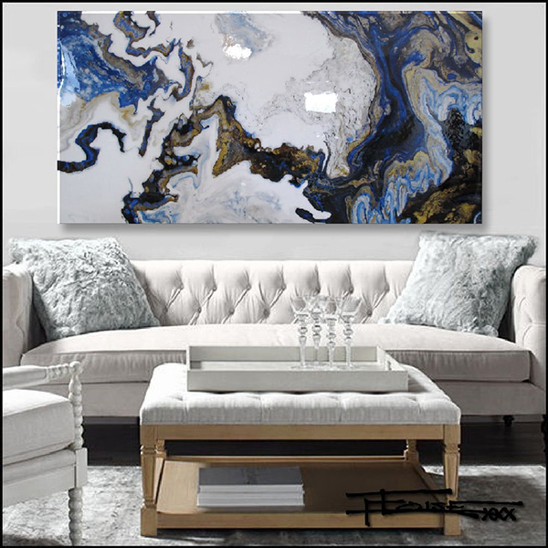 Abstract Modern Canvas Painting I