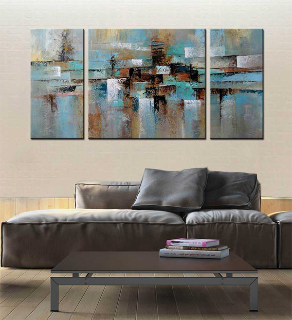 Abstract Tone - Oil Painting on Canvas