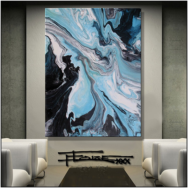 Abstract Canvas Painting II