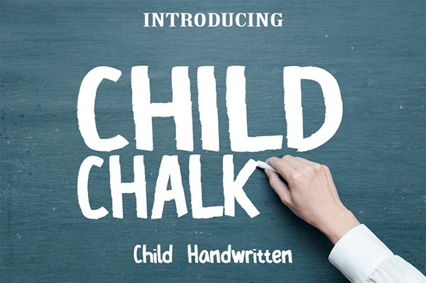 Child Chalk Font