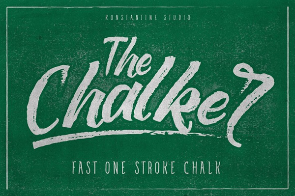 The Chalker - Chalk Lettering Font