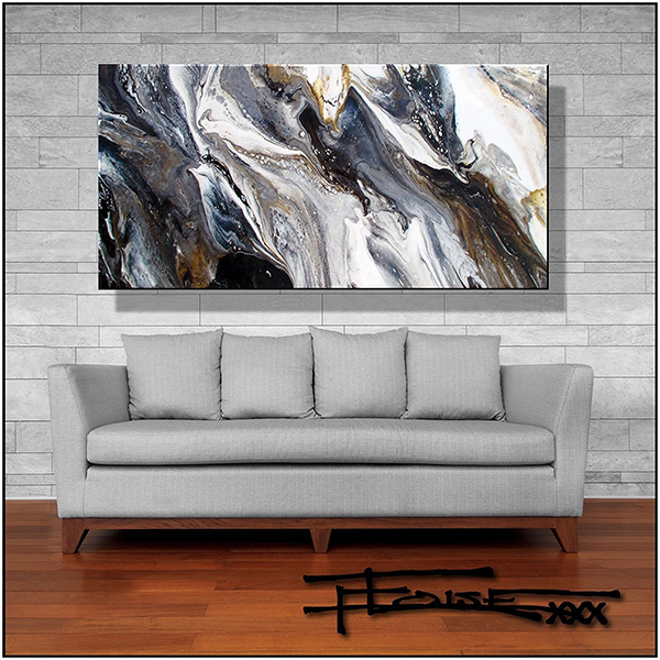 Abstract Giclee Canvas Painting