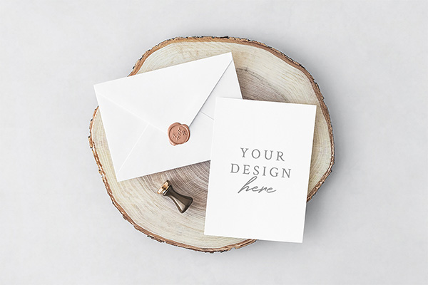 21 invitation greeting card postcard mockups free premium free wedding invitation stationery mockup stopboris Image collections