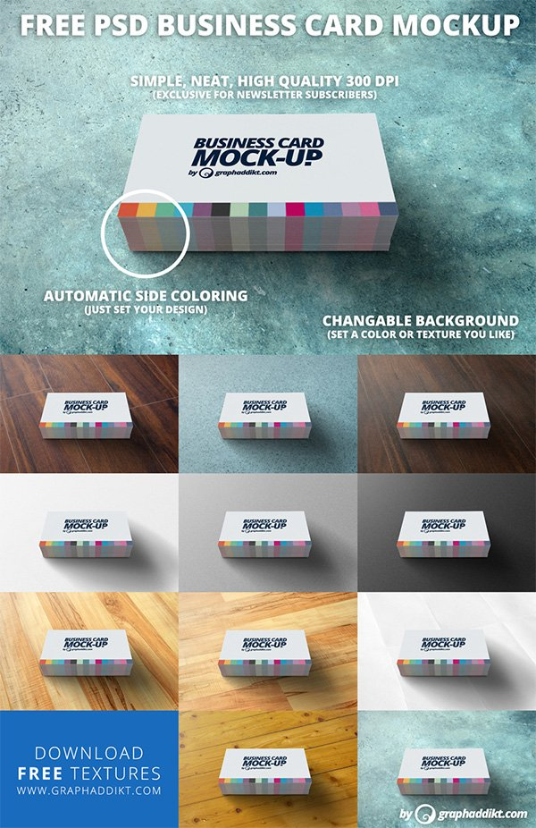 115 free business card mockups psd business card mockup reheart Images