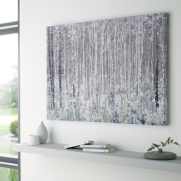 Watercolor Woods Printed Canvas Wall Art