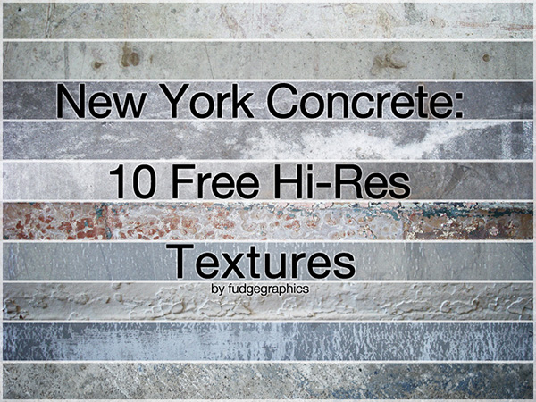 New York Concrete Textures