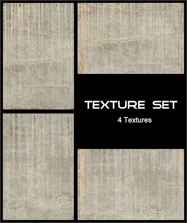 Texture Set - Concrete Wall