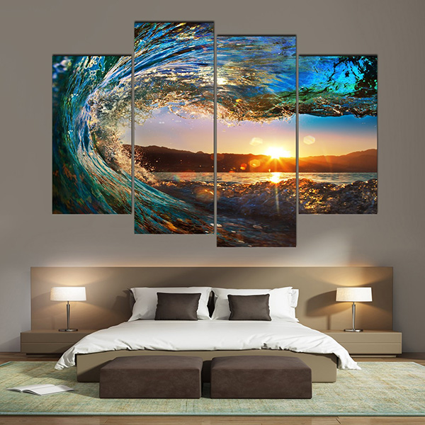 Waves - Large Wall Art Painting