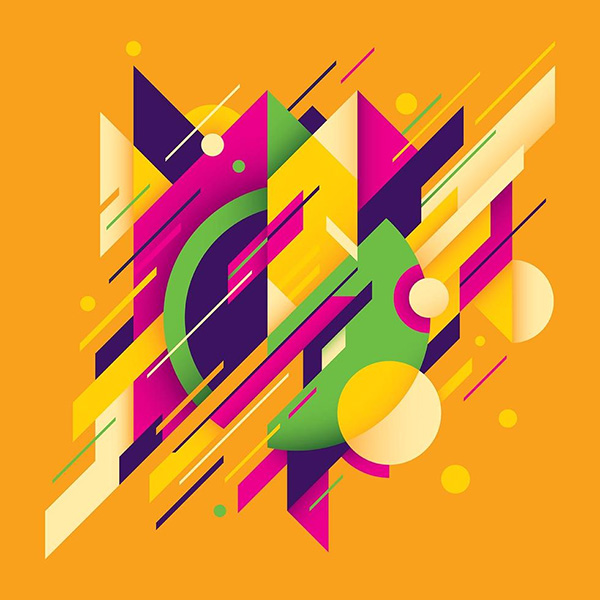 Abstracts Around The World Free Vector