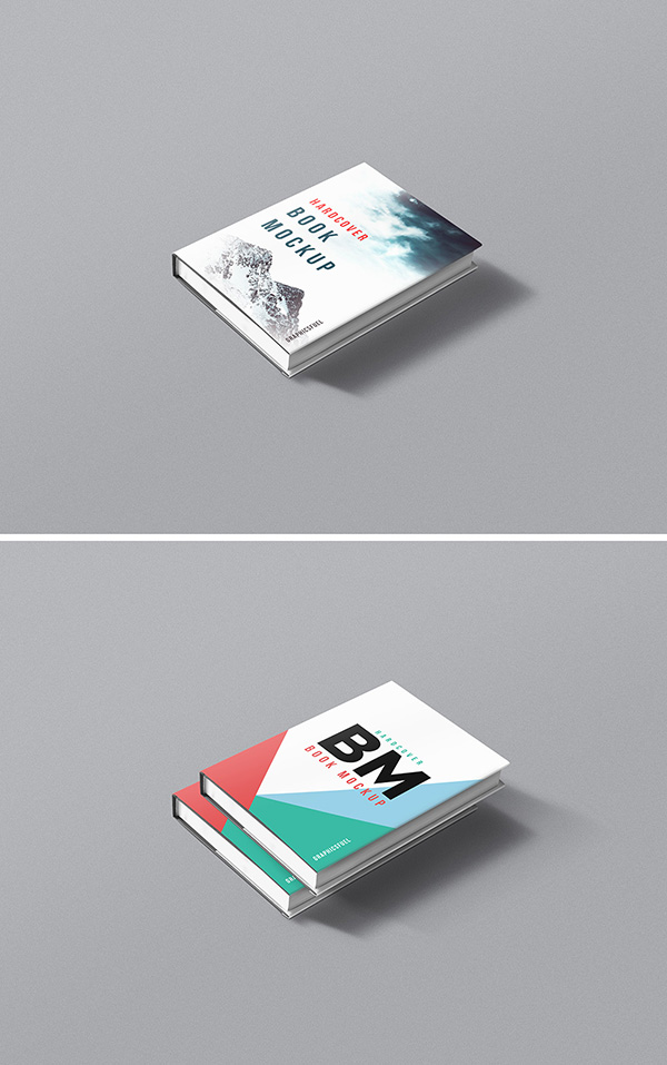 Hardcover Book - Free PSD Mockup