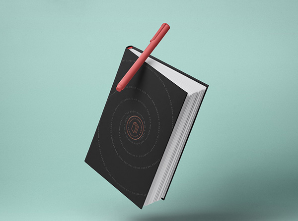 Gravity Psd Book Mockup Hardcover