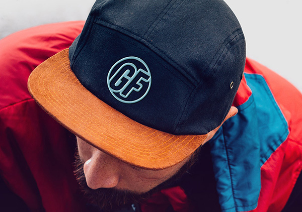 Cap With Realistic Embroidered Logo Free Mockup