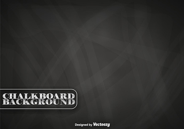 Free Chalkboard Vector Background