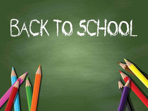 Back To School Background - Free Vector