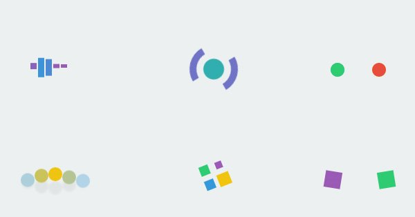 A Collection of CSS3 Animated Pre-loaders