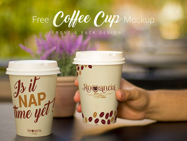 Beverage Cup Photo Mockup PSD