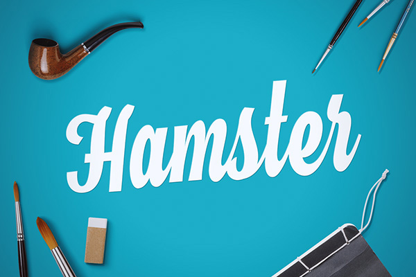 Hamster - Free Cursive Writing Font
