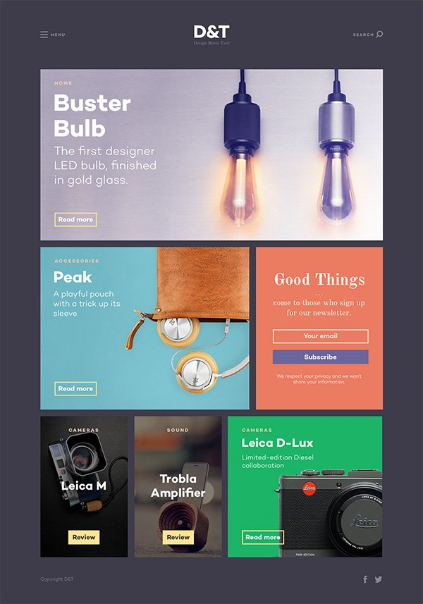 Design & Tech Magazine Template