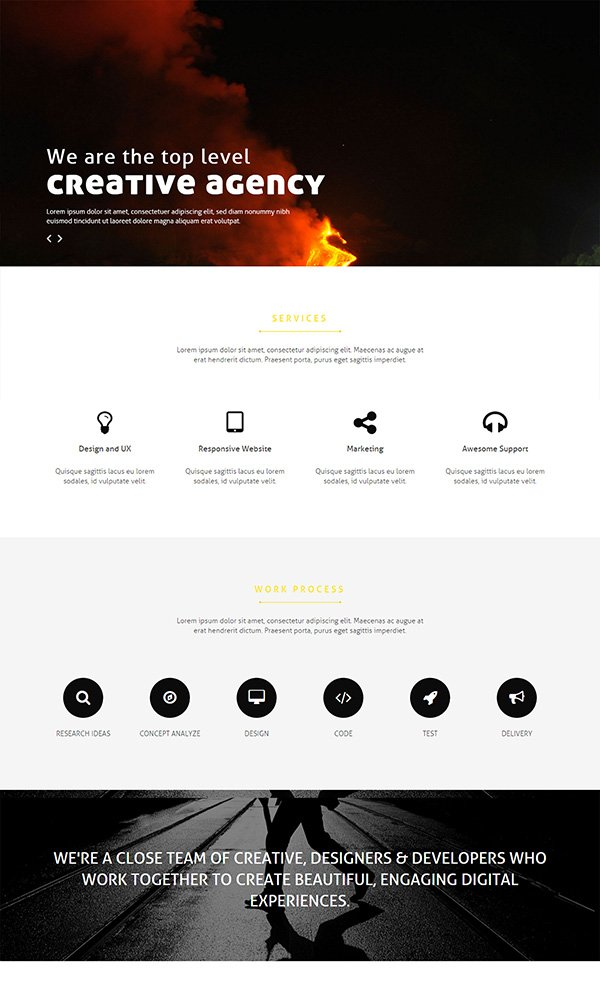 Doer – Multipurpose Bootstrap Business Template