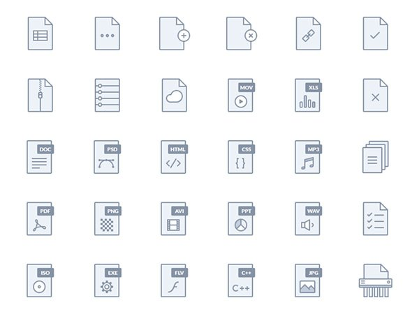 Epic Landing Page Icons