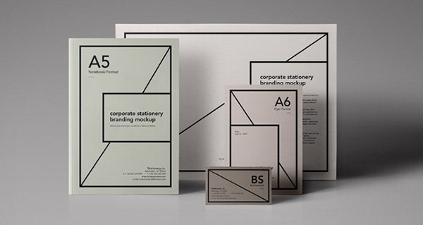 Essential Stationery Branding Mockup