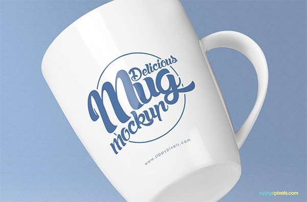 Awesome Coffee Mug Mockup