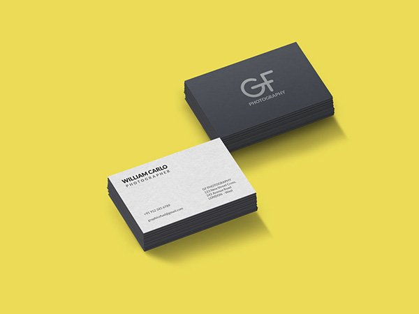 115 free business card mockups free business card mockup psd reheart Images