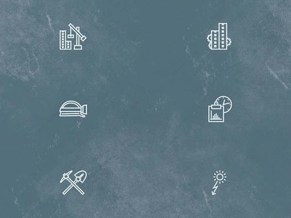 Free Construction Outline Icon Set
