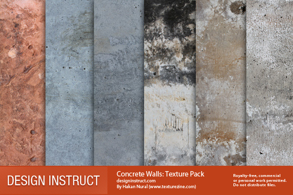 7 Free High-Quality Concrete Wall Textures