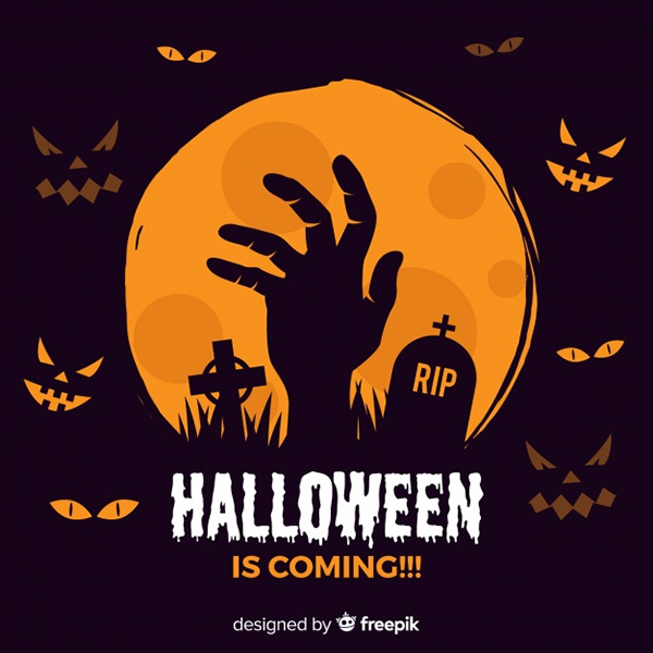Halloween Background - Free Vector