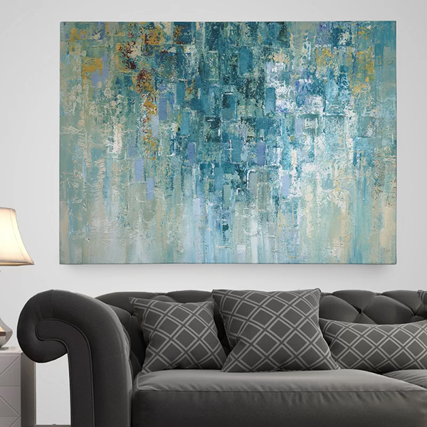 I Love the Rain - Canvas Painting